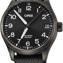 Oris Big Crown ProPilot Date 41mm Black United States of America, New York, Airmont