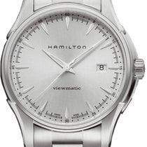 Hamilton Jazzmaster Viewmatic Acier 40mm Argent