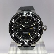 Oris ProDiver GMT Titanium 49mm Black No numerals