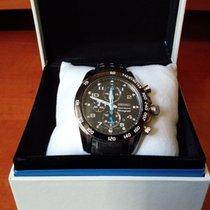 "Seiko ""sportura"" alarm-chronograph 7T62-0KV0-A4 - men's..."