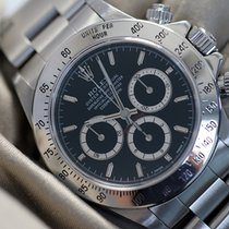 Rolex Daytona 16520 Zenith black dial perfect full set