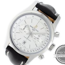 Breitling Transocean Chronograph 38 Steel 38mm White No numerals United States of America, Pennsylvania, Willow Grove