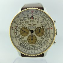 Breitling Navitimer Cosmonaute pre-owned 42mm Gold/Steel