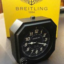 Breitling Aluminium Handaufzug Schwarz Arabisch 70mm neu