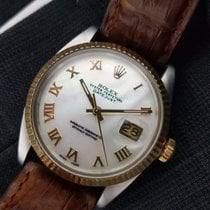 Rolex Automatic 1987 pre-owned Datejust (Submodel) Mother of pearl
