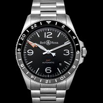 Bell & Ross BR V2 Steel 41mm Black United States of America, California, San Mateo
