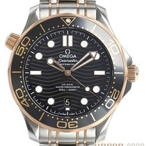 Omega 210.20.42.20.01.001 Gold/Steel Seamaster Diver 300 M 41mm