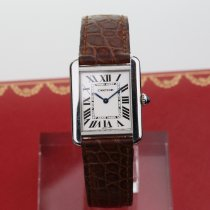 Cartier 2716 Staal Tank Solo 24mm