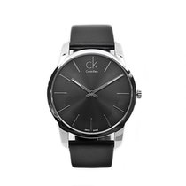 ck Calvin Klein Steel 43mm Quartz K2G21107 new