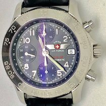 Swiss Military Steel 39mm Automatic F/A 524 pre-owned