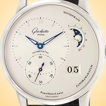 Glashütte Original PanoMaticLunar Acero 40mm Plata