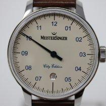 Meistersinger Stahl 43mm Automatik ED-C18-Wien neu Deutschland, Hamburg