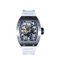 Richard Mille RM 029 Oro blanco 48mm Transparente Árabes