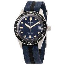 Oris Divers Sixty Five new Automatic Watch with original box 73377474055TSBLUBLK