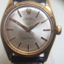 Rolex Bubble Back Aur galben 34mm Fara cifre
