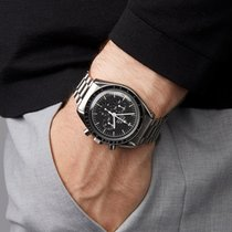 Omega Speedmaster Professional Moonwatch Otel 40mm Negru
