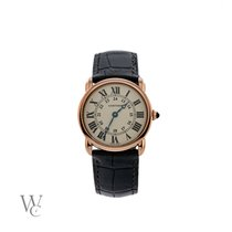 Cartier Ronde Louis Cartier Rose gold 29mm Silver United Kingdom, London