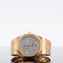 Audemars Piguet Royal Oak Perpetual Calendar Růžové zlato Průhledná