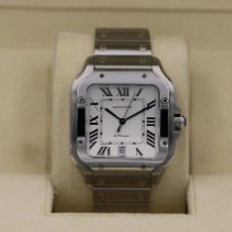Cartier Santos (submodel) Acero 39.8mm Blanco Romanos