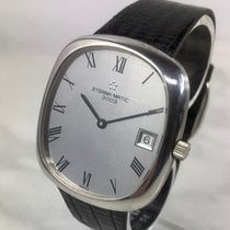 Eterna White gold Automatic Silver 35mm pre-owned Matic