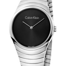 ck Calvin Klein Steel 33mm Quartz K8A23141 new