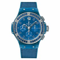 Hublot Big Bang Tutti Frutti Steel 41mm Blue No numerals United States of America, New York, New York