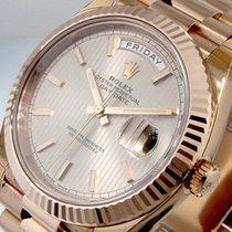 Rolex Day-Date 40 neu Automatik Uhr mit Original-Box und Original-Papieren 228235