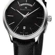 Maurice Lacroix Les Classiques Date Steel 38mm Black No numerals