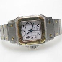 Cartier Santos (submodel) Gold/Stahl 23mm Schwarz Arabisch Deutschland, Duisburg