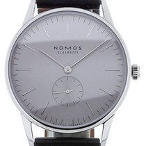 Nomos Orion 38 Manual Grey Dial