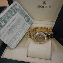 Rolex Datejust Pearlmaster 80298 18k Lds' 29mm W/factory...