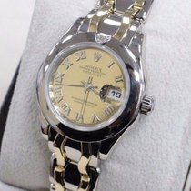 Rolex Pearlmaster Masterpiece 69329 18k White & Yellow...