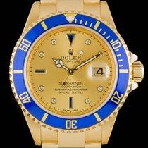 Rolex SUbmariner Date Serti Dial Gold