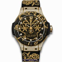 Hublot 343.VX.6580.NR.0804 Yellow gold Big Bang Broderie 41mm new United States of America, California, Newport Beach