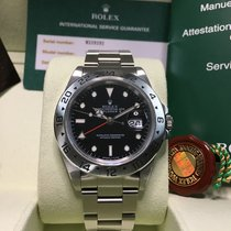 Rolex MEN'S ROLEX EXPLORER II Black Dial,STAINLESS STEEL...