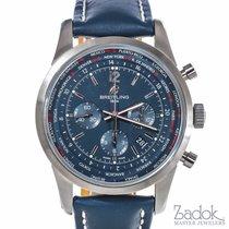 Breitling Transocean Unitime Pilot's Chronograph Automatic...