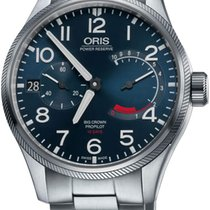 Oris Big Crown ProPilot Calibre 111 Steel 44mm Blue United States of America, New York, Airmont