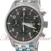 IWC IW377719 Steel Pilot Spitfire Chronograph 43mm new United States of America, New York, New York