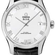 Omega De Ville Hour Vision Acero 41mm Plata Romanos