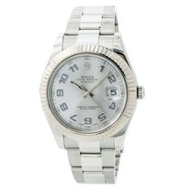 Rolex Datejust II Steel 44mm Silver Arabic numerals United States of America, New York, New York