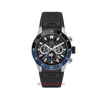 TAG Heuer Carrera CBG2A1Z.FT6157 Tag Heuer Carrera Cronografo GMT Caucciù 2019 new