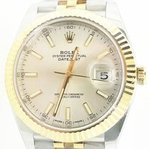 Rolex Datejust II Gold/Steel 41mm Silver No numerals United States of America, New York, New York
