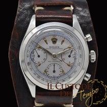 Rolex Chronograph Acél Ezüst Számjegyek nélkül
