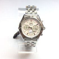 Breitling Shadow Flyback Steel 42mm White United States of America, New York, New York