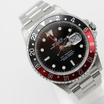 "Rolex GMT-Master II 16710 Rectangular Dial 3186 Caliber ""M""..."