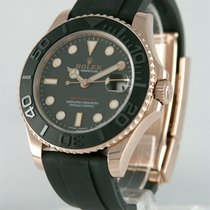 Rolex Yacht-Master pre-owned 37mm Red gold