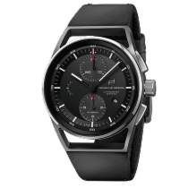 Porsche Design 1919 Chronotimer Flyback Black & Leather
