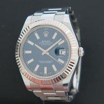 Rolex Datejust II Staal 41mm Blauw Nederland, Maastricht
