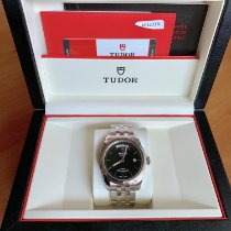 Tudor Steel Automatic 39mm pre-owned Glamour Date-Day