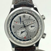 Jaeger-LeCoultre Steel 41.5mm Automatic 1528420 pre-owned
